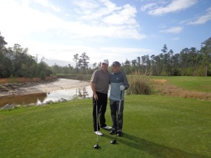 Rory and Brian Henninger at Grand Bear Pro Am DS